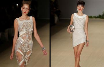 Samuel Cirnansck se roba las miradas en la Semana de la Moda de Sao Paulo