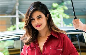 Priyanka Chopra: este es el impactante vestido rojo que usó para pasear por Nueva York