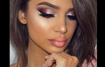 Combinación perfecta: Piel morena + colores rosados. Aprende a usarlos en tu make up