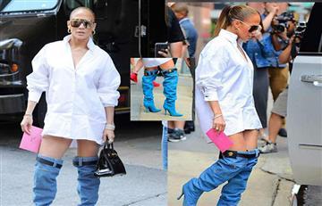 Jennifer Lopez luce con los pantalones abajo y ¡ha sorprendido a todo Instagram!
