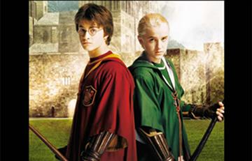 Protagonistas de 'Harry Potter', Harry y Draco Malfoy, se reecontraron