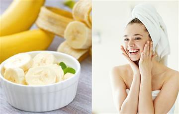 Piel perfecta: mascarilla de plátano para mejorar el aspecto de la piel