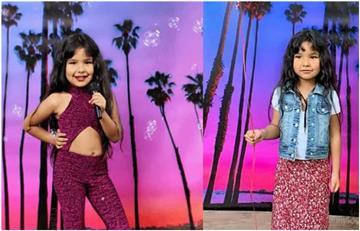 Pequeña niña celebra su cumpleaños vestida de Selena Quintanilla