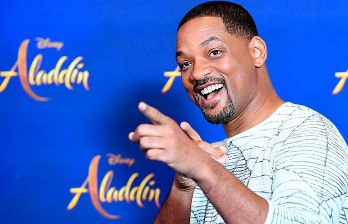 Will Smith vuelve con 'Aladdin' (Foto: EFE)