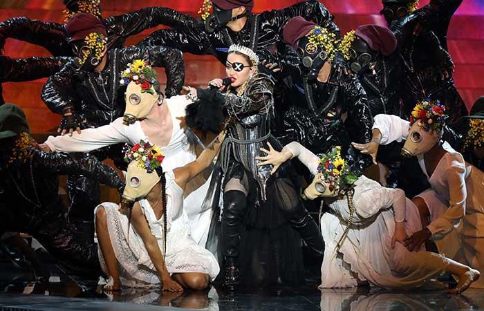Madonna se apresta a hacer bailar a todo el mundo (Foto: EFE).