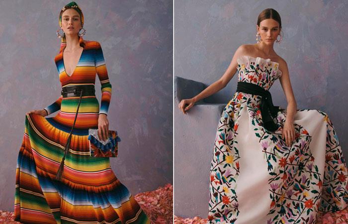 El director creativo de Carolina Herrera dice que homenajea cultura de México (EFE).