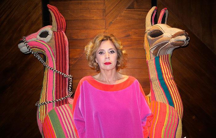 Agatha Ruiz: No hay nada en el mundo que me guste más que la ropa de cholita (Foto: EFE).