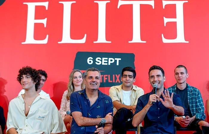 La segunda temporada de Elite se estrena en septiembre en Netflix (Foto: EFE).