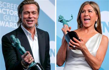 Brad Pitt y Jennifer Aniston compartieron momentos juntos