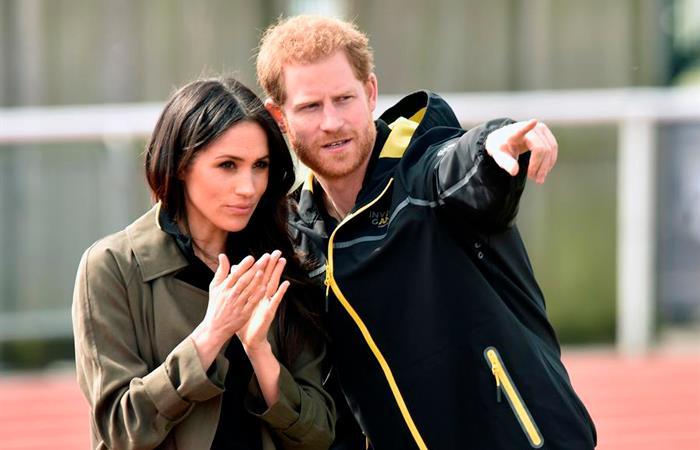 Duques de Sussex dejarán la Monarquía en breve. Foto: EFE