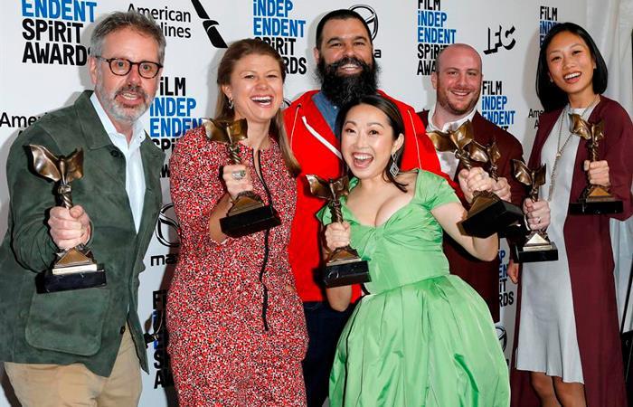 Se celebraron los Spirit Awards en un ambiente de fiesta previo a los Premios Óscar (EFE).