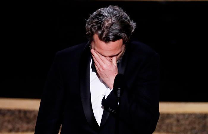 Joaquin Phoenix es el mejor actor por 'Joker'. Foto: EFE