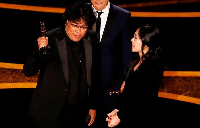 Parasite fue una de las más ganadoras del Óscar 2020. Foto: EFE