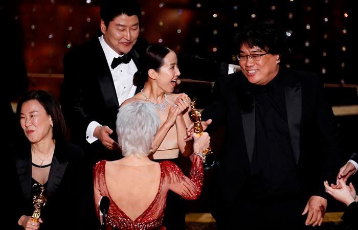 'Parasite' fue la gran ganadora del Óscar 2020. Foto: EFE