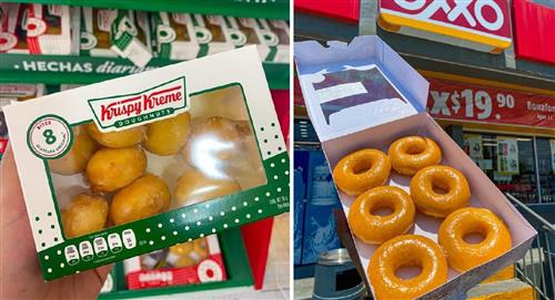 Krispy Kreme llega a algunas tiendas de Oxxo e internet reaccionó así