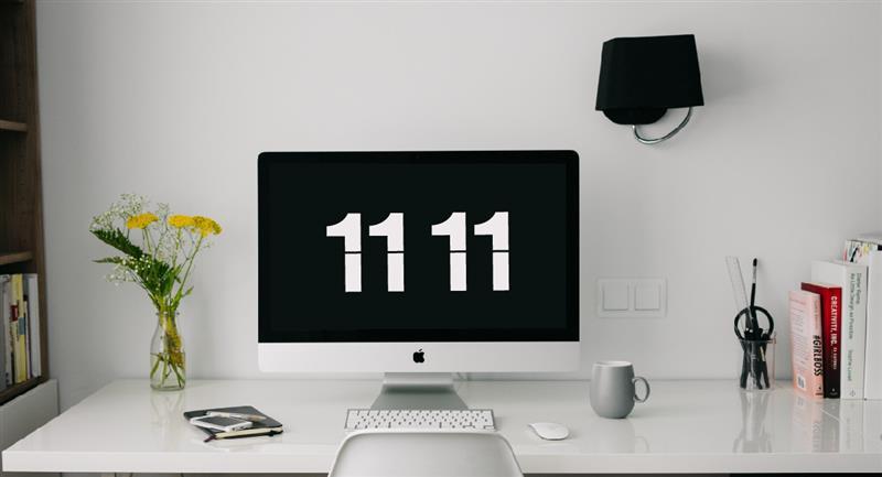 """""""11:11"""": Qué significan las horas espejo. Foto: Pexels"""