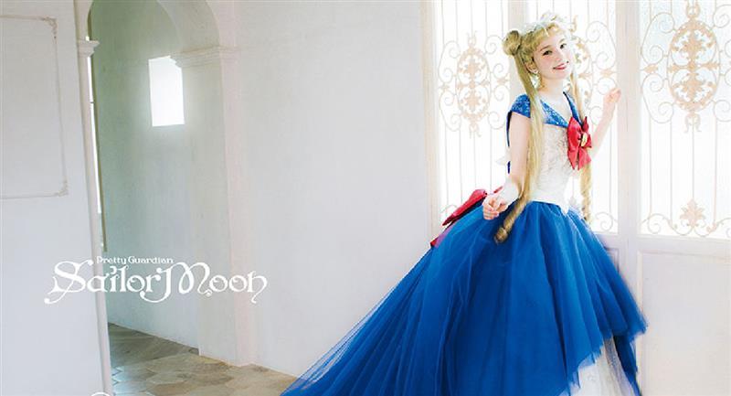Colección de vestidos de novia inspirados en Sailor Moon. Foto: Mariarosa