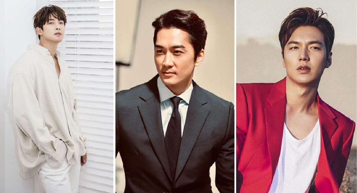 10 actores coreanos que seguro te robarán el corazón