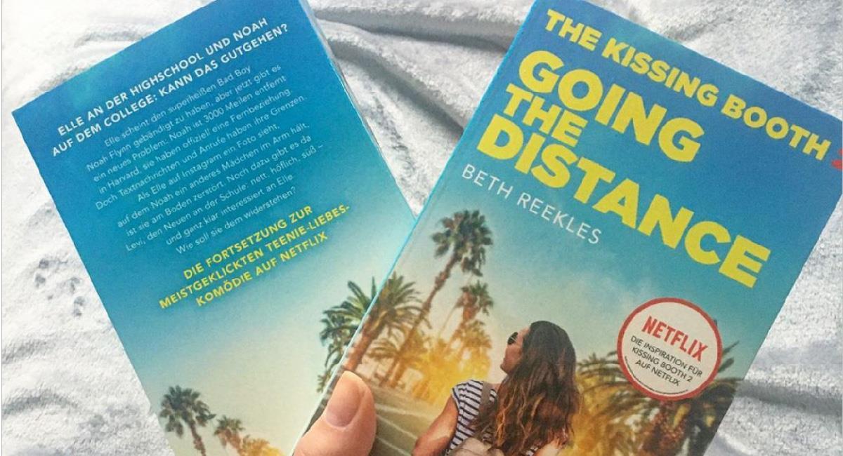 """¿Cuántos libros conforman la saga de """"El Stand de los besos""""?. Foto: Instagram @authorbethreekles"""