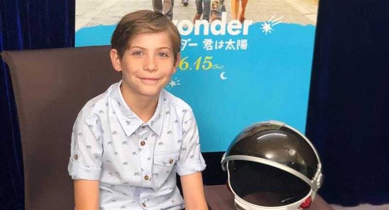 """Wonder"": La increíble transformación de Jacob Tremblay. Foto: Instagram @jacobtremblay"