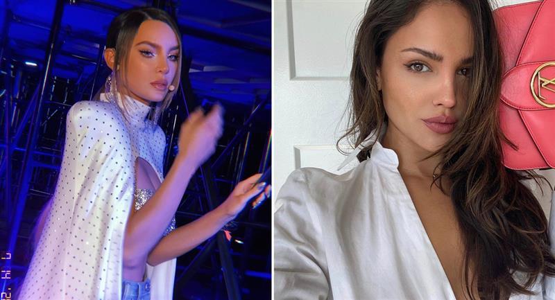 Comparan a Belinda con Eiza González por su lista de amores. Foto: Instagram