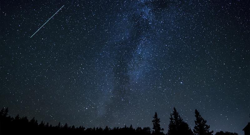 Lluvia de estrellas: Cómo y a qué hora verlo. Foto: Pexels