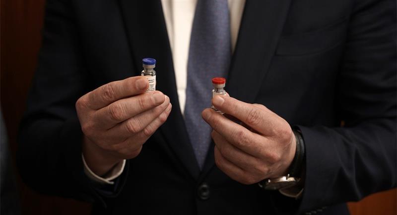 Rusia registra la primera vacuna anti-COVID-19 del mundo. Foto: EFE