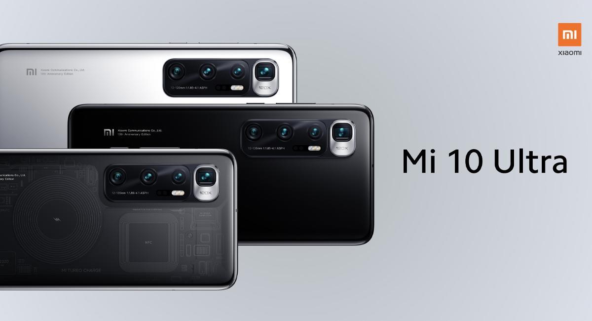 Xiaomi Mi 10 Ultra llega con especificaciones técnicas nunca antes vistas
