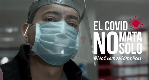 """""""El COVID no mata solo"""": La singular campaña con que Perú busca crear conciencia"""