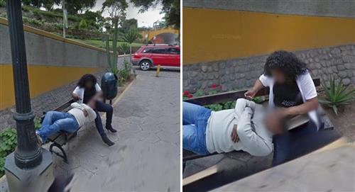Un hombre buscaba una dirección en Google Maps y descubre a su pareja con otro hombre