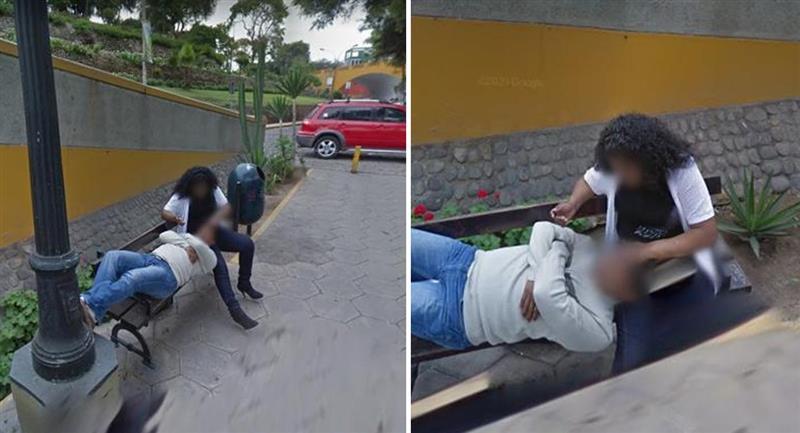Hombre buscaba dirección en Google Maps pero descubre infelicidad. Foto: Google Maps