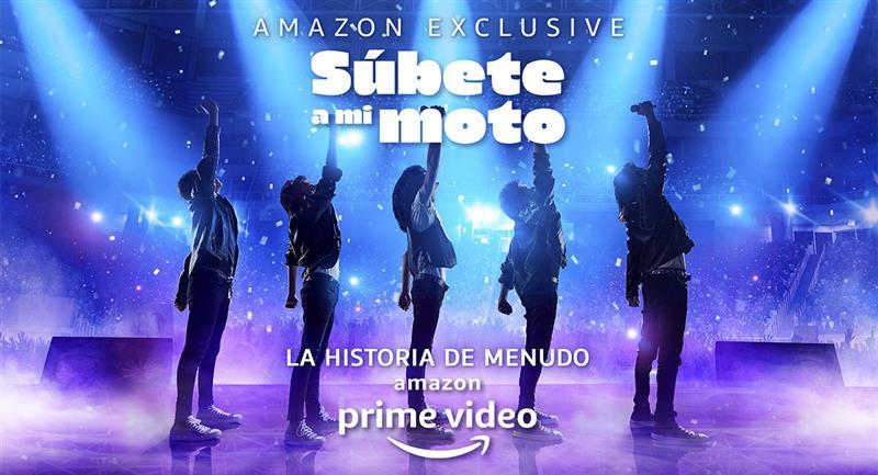 """Súbete a mi moto"": Ellos serán los protagonistas de la serie de Menudo. Foto: Amazon Prime Video"