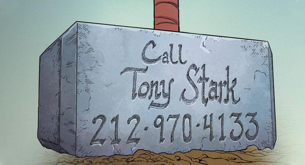 Thor publica el número de Tony Stark y sí funciona