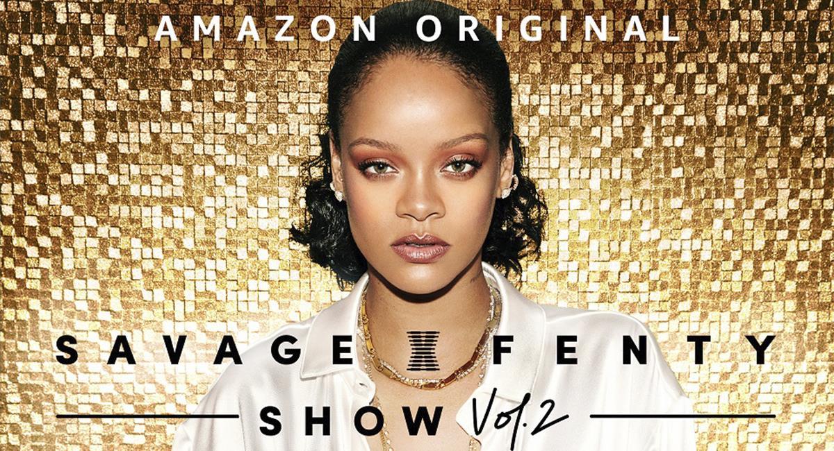 Rihanna regresa con Savage X Fenty Show por Amazon Prime Video