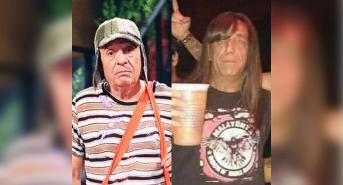 Aparece el gemelo perdido de Roberto Gómez Bolaños y es metalero
