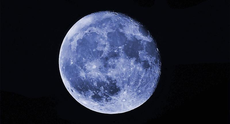 Dónde y cómo ver la Luna Azul de octubre. Foto: Pexels