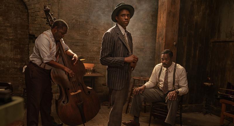 Mira a Chadwick Boseman en su última película para Netflix. Foto: Netflix