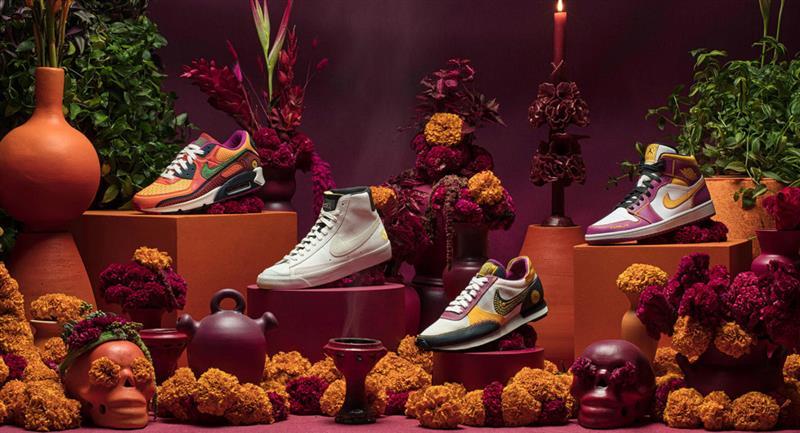 ¿Cuándo sale la colección de Día de Muertos de Nike?. Foto: Nike