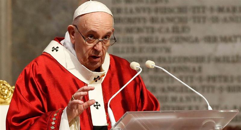 Papa Francisco pide leyes de unión civil. Foto: EFE