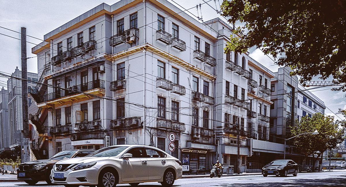 Así mueven un edificio histórico de un lugar a otro en China. Foto: Pexels