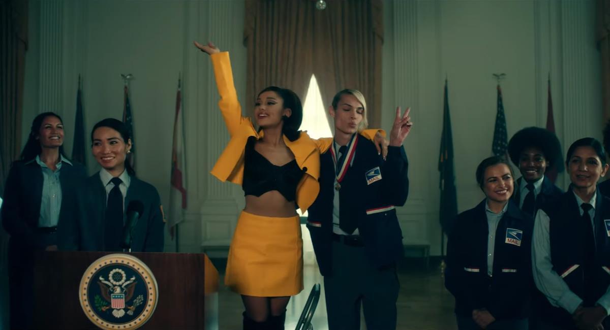 """Ariana Grande aparece como la nueva presidenta de EE. UU. en su nuevo single """"Positions"""""""
