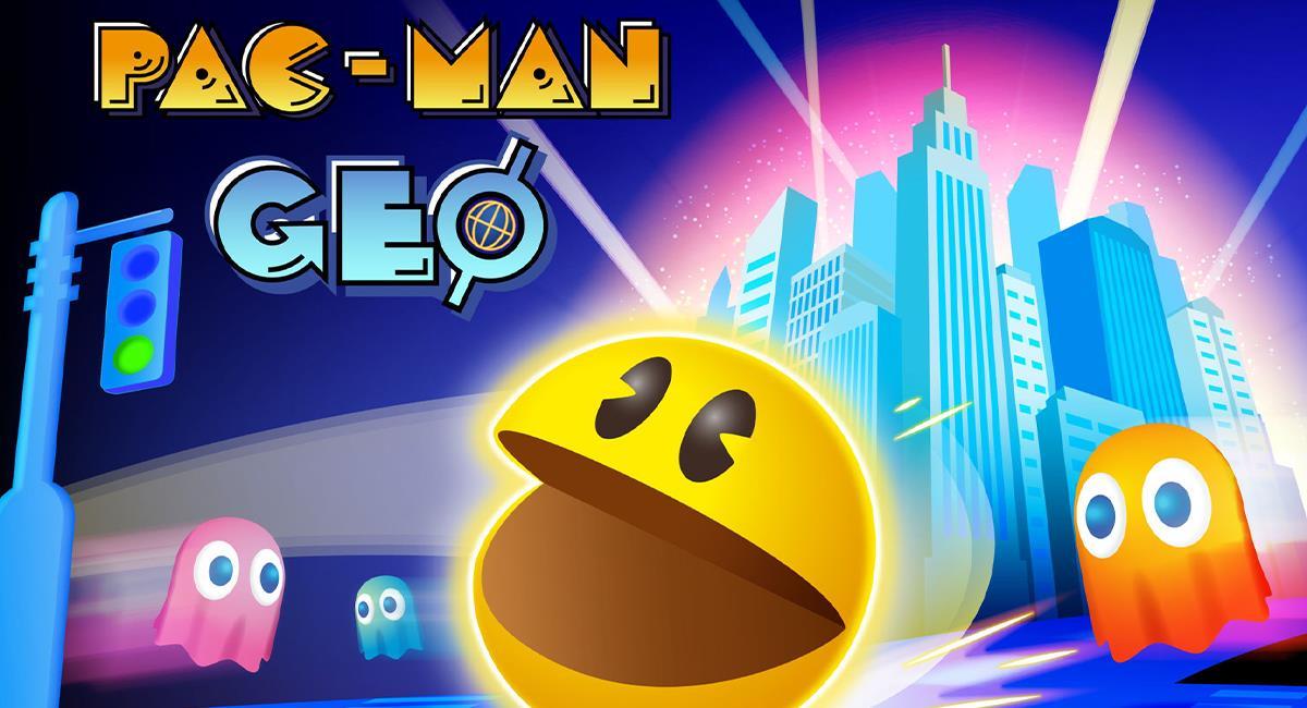 PAC-MAN GEO: El videojuego que pasó del arcade a las calles del mundo real