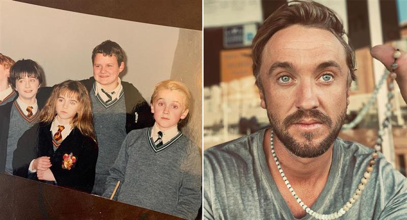 Así fue el reencuentro de los actores de Harry Potter a 19 años del estreno. Foto: Instagram @t22felton