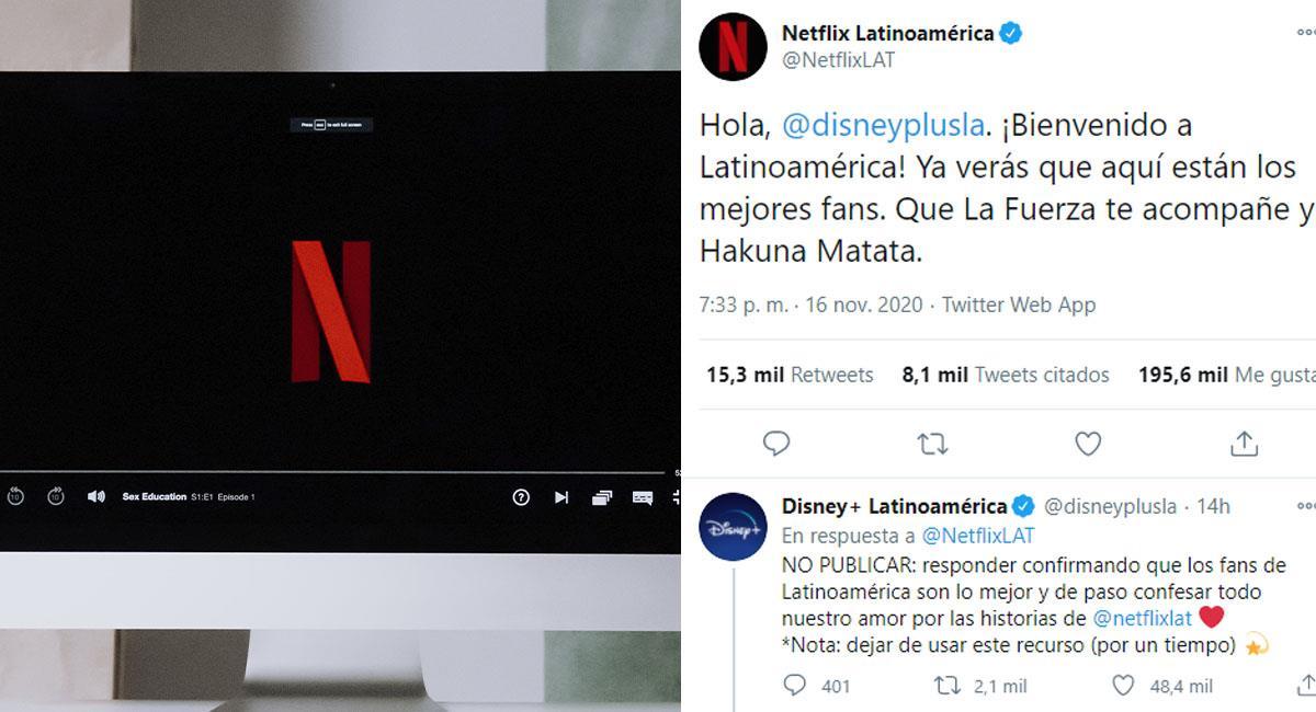 Netflix y Disney Plus lanzan halagos a los fans de Latinoamérica en Twitter. Foto: Pexels