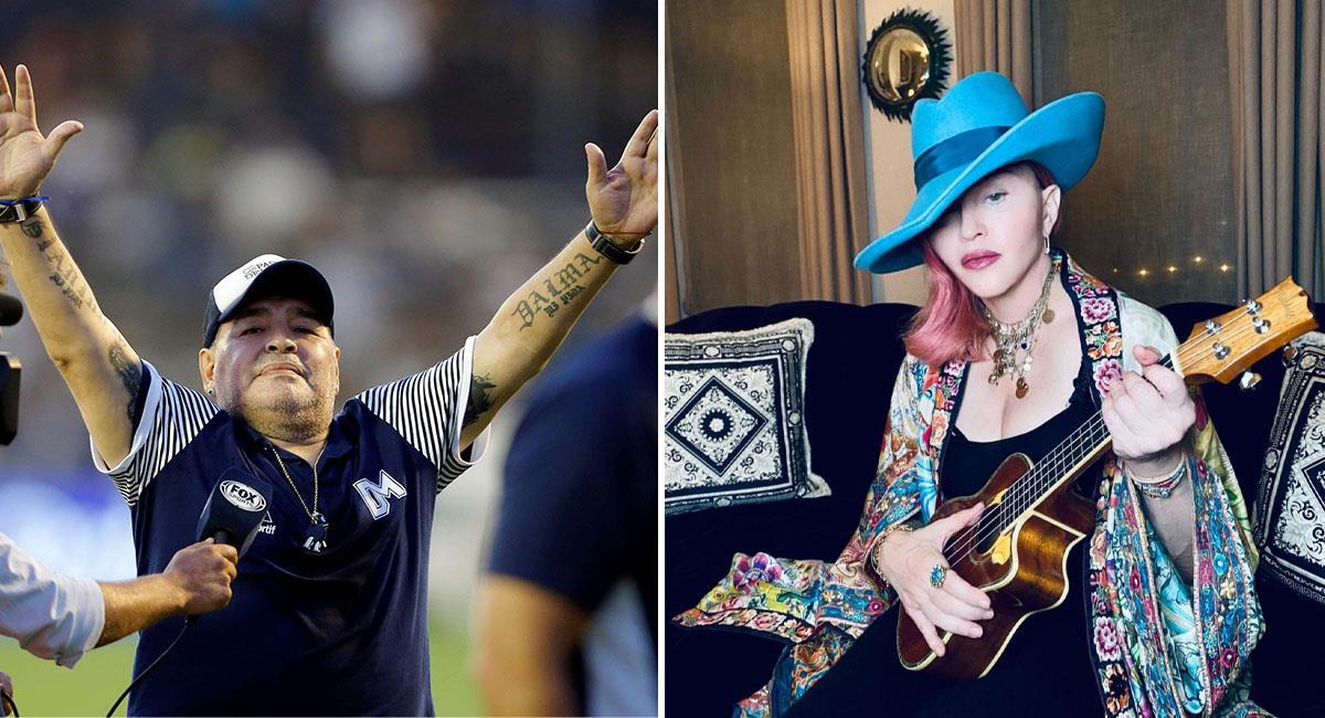 Diego Maradona: Confunden a Madonna tras la muerte de Maradona
