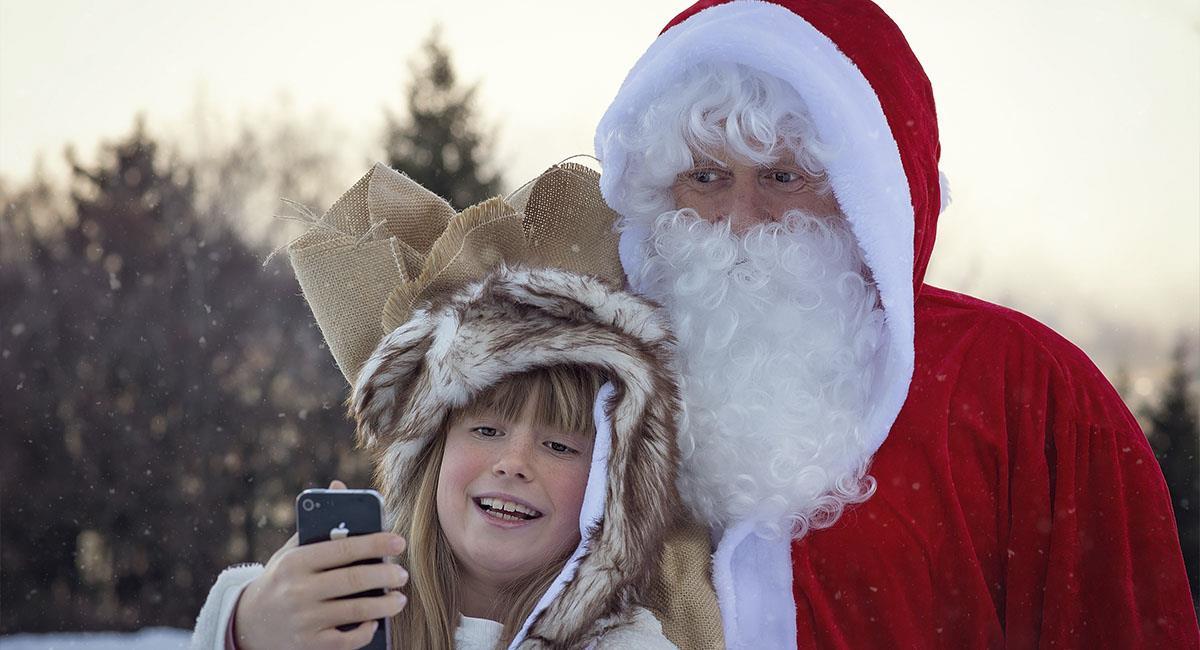 Así puedes hacer para que Santa te envíe un saludo por Navidad. Foto: Pexels