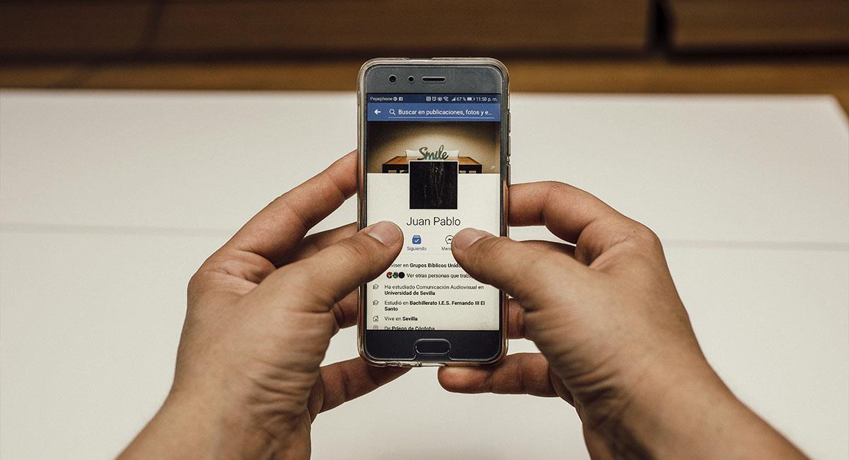 ¡Cuidado! Así es como pueden robar tu información de Facebook. Foto: Pexels