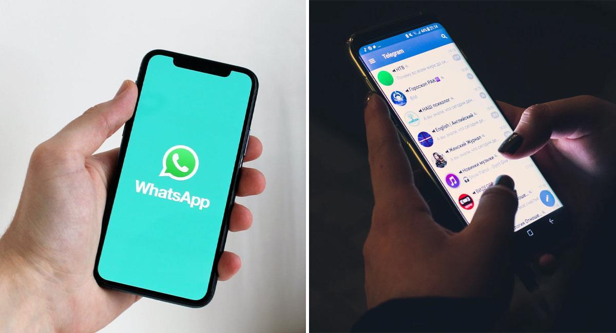 ¿En qué se diferencian Telegram y WhatsApp?. Foto: Pexels
