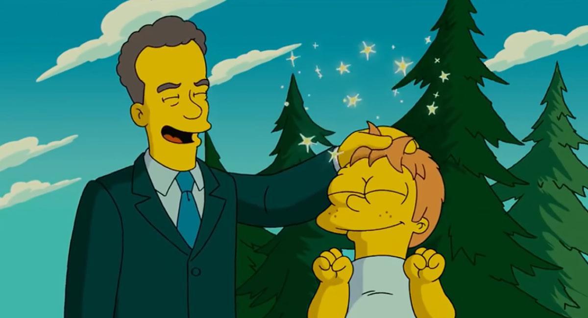 Los Simpson predicen la participación de Tom Hanks en la envestidura de Joe Biden