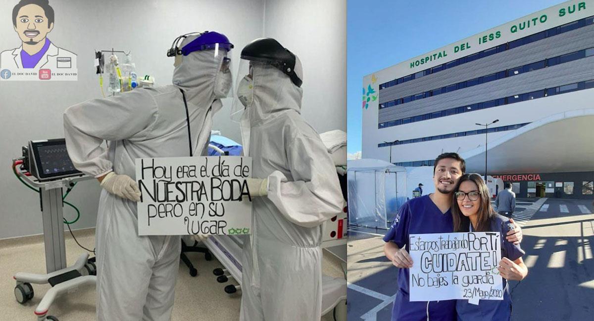 Médico que aplazó su boda para luchar contra la COVID-19, está en intubado en UCI